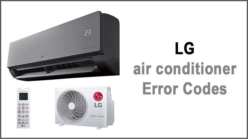 LG air conditioner error codes